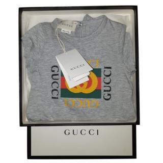 Gucci Unisex Logo Sleepsuit
