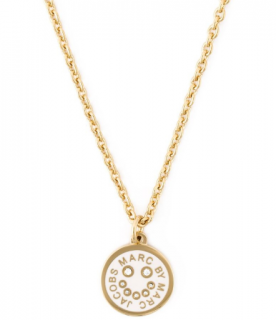 Marc by Marc Jacobs Smiley Logo Pendant Necklace