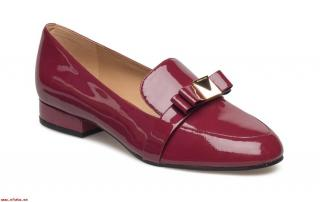 Michael Michael Kors Red Patent Loafer Brogues