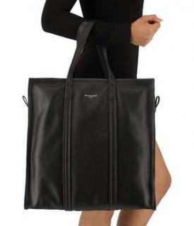 Balenciaga Black Bazar Shopper Tote