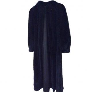 Bespoke Black mink fur coat