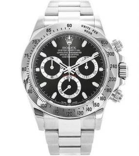 Rolex Men�s Daytona Steel Watch - Full Set