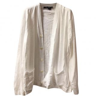 Ralph Lauren RLX White Cotton Cardigan