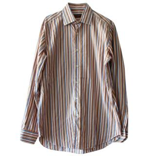 Etro Men's Striped Shirt