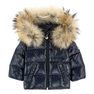 Moncler K2 Fur Down Children's Coat