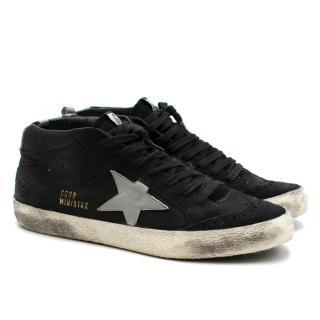 Golden Goose Deluxe Brand Black Mid Star Trainers