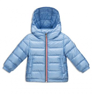 Moncler Boy's Hooded Down Puffer Jacket