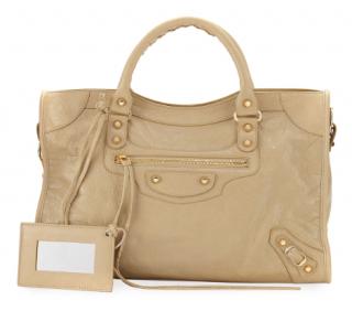 Balenciaga Beige Classic City Bag