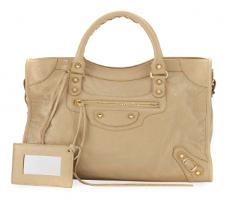 Balenciaga Beige Classic City Bag