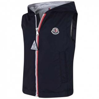 Moncler Boys navy blue �New Deneb� gilet