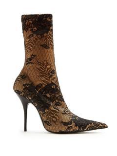Balenciaga Lace Knife Boots