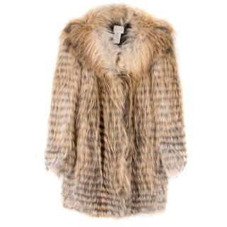 Celine Fox Fur Coat