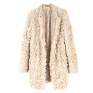 Zadig & Voltaire Faux Shearling Coat