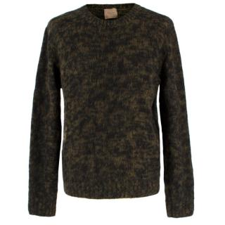 Federico Curradi Men�s Green Wool Knit Jumper