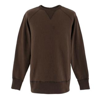 Rag & Bone Brown Crew-Neck Sweater