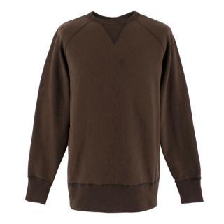 Rag & Bone Brown Crew-Neck Sweater