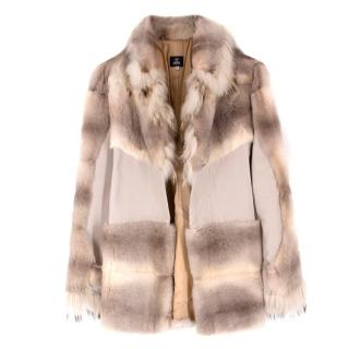 Versace Pahmi Fur Coat