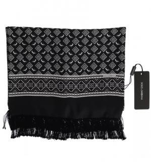 Dolce & Gabbana silk black & white scarf