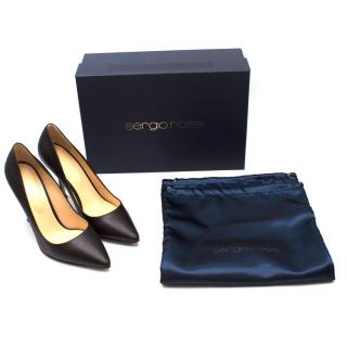 Sergio Rossi Classic Leather Pumps