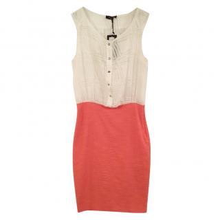 Byblos silk bi-colour dress