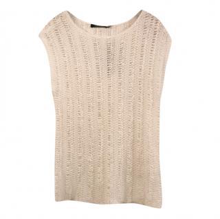Lauren Ralph Lauren knit white top