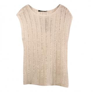 Lauren Ralph Lauren knit white top