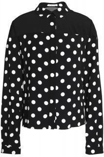 Claudie Pierlot Polka Dot Cheryl Shirt