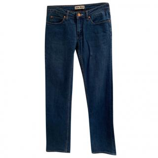 Acne Hep Flash Blue Jeans