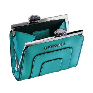 Bvlgari Serpenti Emerald Coin Purse