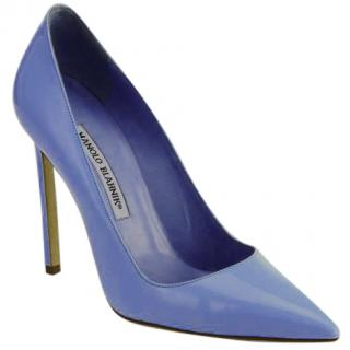 Manolo Blahnik Point-Toe Patent Pumps