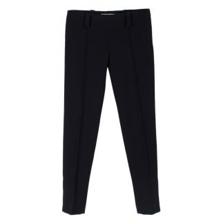 Balenciaga Black Cigarette Trousers