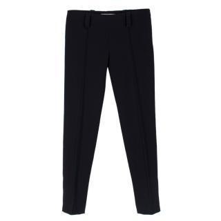 Balenciaga Black Cigarette Trousers