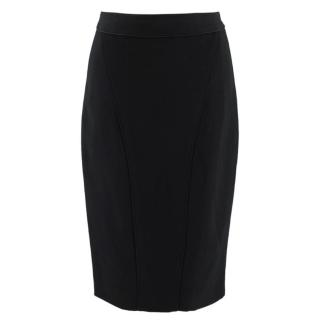 Zac Posen Black Midi Pencil Skirt
