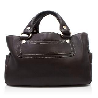 Celine Black Leather Boogie Bag