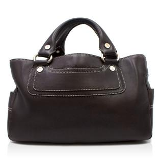 Celine Black Leather Boogie Bag