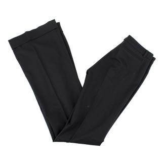 Balenciaga Black Wool Blend Trousers