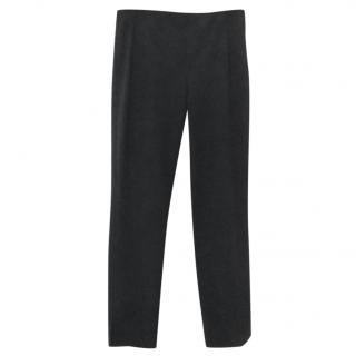 Prada slim black trousers