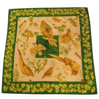 Hermes la vie au grand air silk scarf