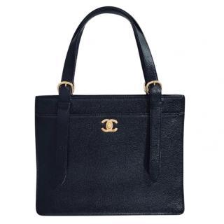 Chanel Vintage Caviar Tote Bag