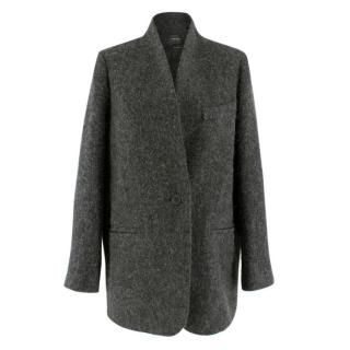 Isabel Marant Grey Alpaca & Wool-blend Coat