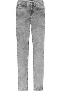 J Brand Mid Rise Acid Wash Jeans