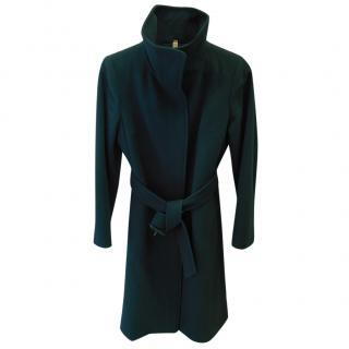 Burberry Wool Funnel Neck Coat