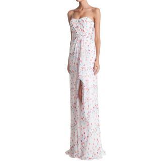 Rani Zakhem Haute Couture Silk Printed Gown