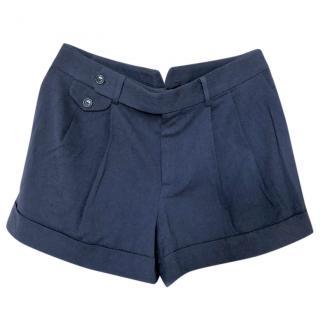 Ralph Lauren navy wool shorts