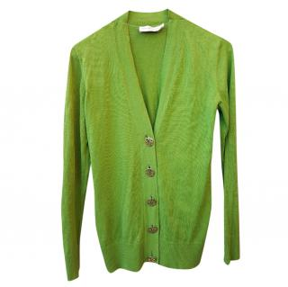 Tory Burch Kiwi Green cardigan