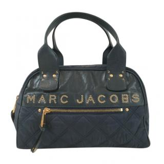 Marc Jacobs Quilted Signature RO6 197 Leather/Nylon Satchel
