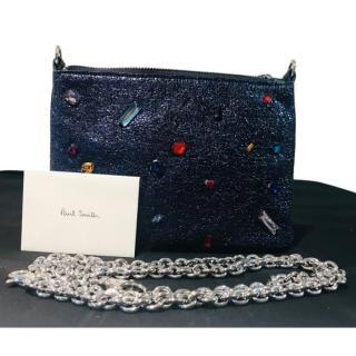 Paul Smith Gem Embellished Clutch Bag