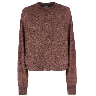 Isabel Marant Copper Lurex Sweater