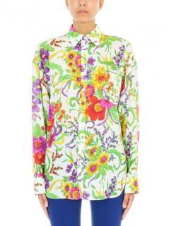 Balenciaga crepe floral shirt - Current Season