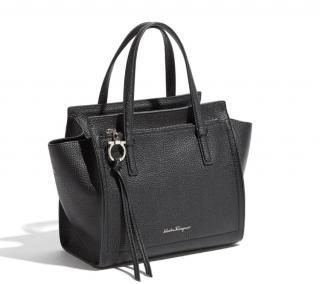 Salvatore Ferragamo black Amy bag